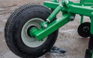 Ходоуменьшитель и колеса для мотокультиватора