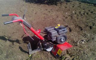 Почему мотокультиватор зарывается в землю?