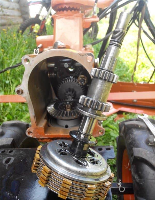 Фрикционное сцепление для мотоблока