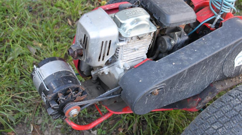 Как сделать на мотоблок генератор?