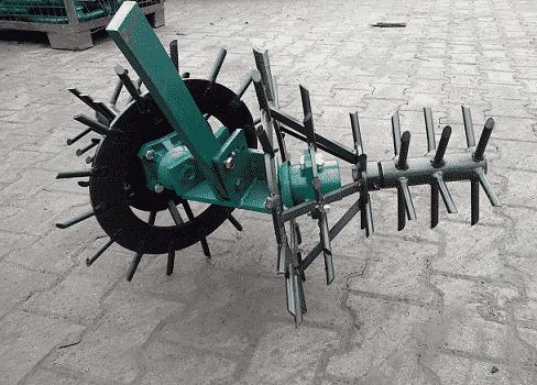 Роторная борона для мотоблока своими руками