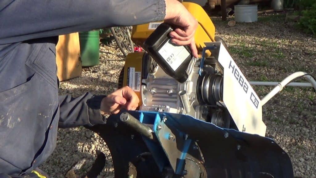 Сколько заливать масла в редуктор мотоблока?
