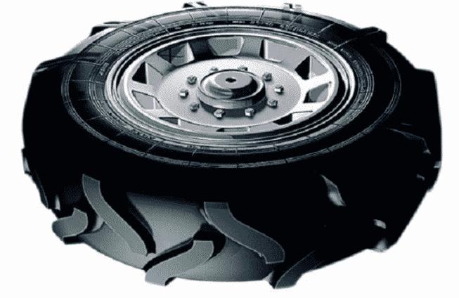Распространенные варианты колес для культиватора