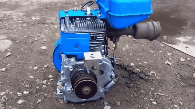 Выбор двигателя для сборки снегохода